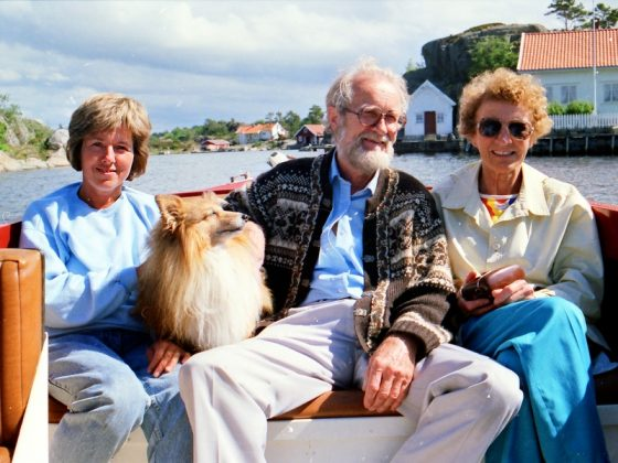 Ulvøysund 1987. Foto. Chronsteen